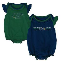 Utah Jazz Creeper 2 Pack Homecoming Bodysuit Set
