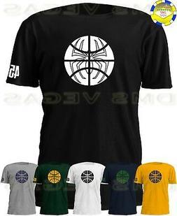 Utah Jazz Donovan Mitchell Spiderman Jersey Tee T-Shirt Men