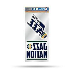 Utah Jazz Double UP Decal Sheet Slogan Sticker Auto Home Emb
