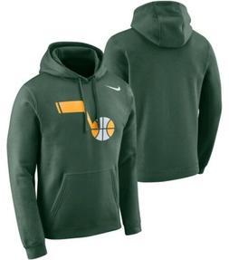 Nike Utah Jazz Earned Edition Essential Hoodie Sweater Size
