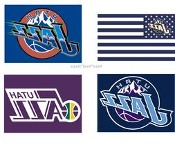 Utah Jazz Flag 3x5 Ft Polyester Mancave Outdoor NBA NEW! Gob