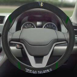 Utah Jazz FM Premium Embroidered Black Auto Steering Wheel C
