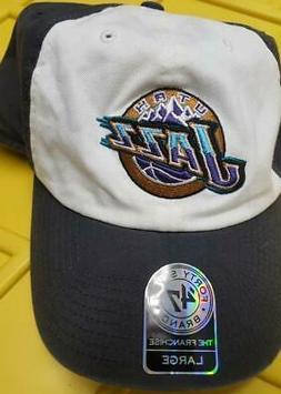 Utah Jazz Golf  Baseball/Golf Hat Size L Hardwood Classics M