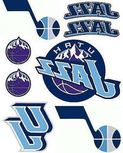 Utah Jazz Iron On T Shirt Pillowcase Fabric Transfer Set #1