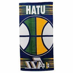 "Utah Jazz Laser Design Large 30""x60"" Beach Bath Towel NBA Ba"