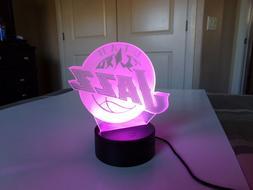 UTAH JAZZ LED Multi-Color lamp with remote