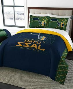 Utah Jazz NBA Basketball Full Queen Comforter Pillow Sham Be
