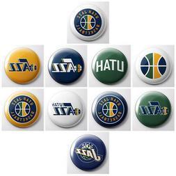 UTAH JAZZ - NBA basketball pinback buttons - sports team pin