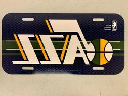 Utah Jazz NBA Basketball Vibrant Retro Acrylic License Plate