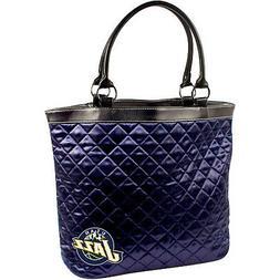 Utah Jazz NBA Licensed Navy Quilted Tote Bag
