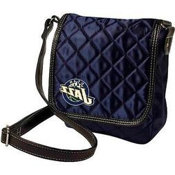 Utah Jazz NBA Licensed Quilted Purse Handbag
