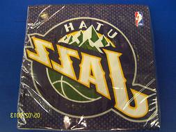 Utah Jazz NBA Pro Basketball Sports Banquet Party Paper Lunc