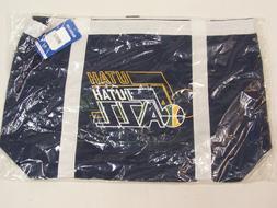 Utah Jazz NBA Travel Sports Gym Beach Tote Tailgate Bag Duff