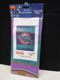 """UTAH JAZZ NBA VERTICAL FLAG FLAG INDOOR OUTDOOR WINCRAFT 27"""""""