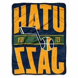 "Utah Jazz Official NBA Basketball ""Clear Out"" Micro Raschel"