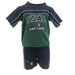 Utah Jazz Official NBA Infant & Toddler Size Athletic Shirt