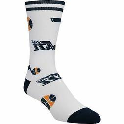 Utah Jazz Panel Crew Socks
