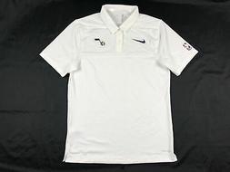 Utah Jazz Nike Polo Shirt Men's White Dri-Fit New Multiple S