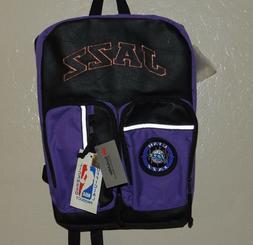 Utah Jazz Purple Black 90s Deadstock 3m Reflective NBA Backp
