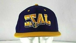 Utah Jazz Purple/Yellow NBA Baseball Cap Snapback