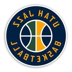 Utah Jazz Round  Decal / Sticker Die cut