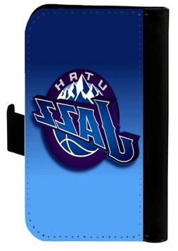 UTAH JAZZ SAMSUNG GALAXY & iPHONE CELL PHONE CASE LEATHER CO