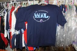Utah Jazz T-Shirt Navy Blue  Extra Large  NWT