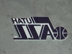 UTAH JAZZ Vintage ALL PURPLE NBA RUBBER Basketball FRIDGE MA