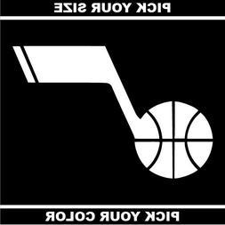 Utah Jazz Vinyl Sticker / Decal * Basketball * NBA * Western